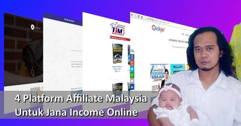 5 Platform Affiliate Malaysia Untuk Jana Income Online
