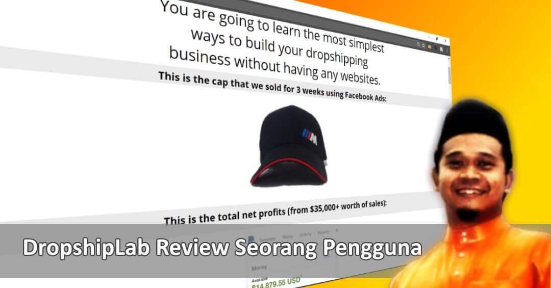 Dropship Lab Dari Aqif Azizan Review Seorang Pengguna