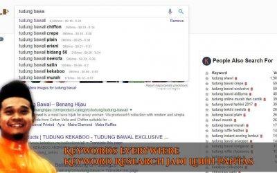 Keywords Everywhere – Chrome Extension Yang Mempercepatkan Proses Kajian Keyword Anda