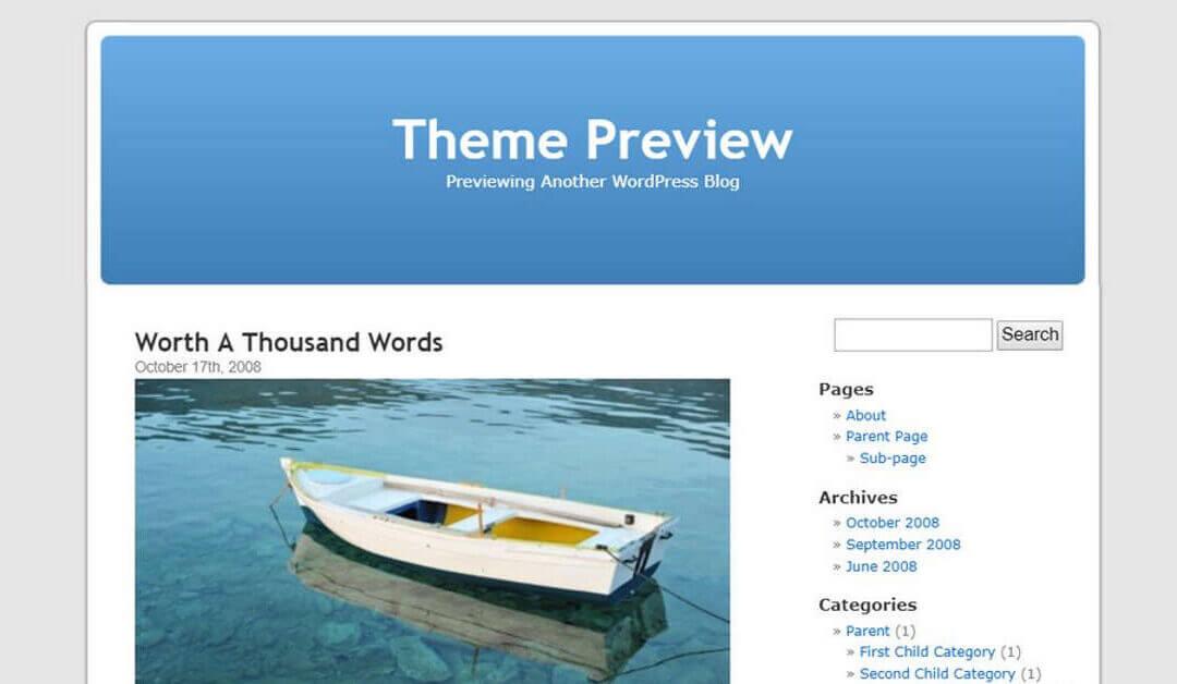 [Tip Pantas] Anda Perlukan Dua Theme Dalam Website WordPress Anda