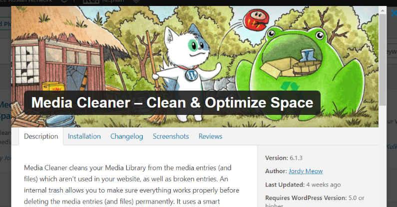 Media Cleaner WordPress Plugin